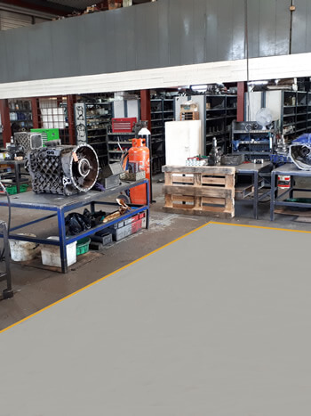 Gearbox repairs for HGV and PSV